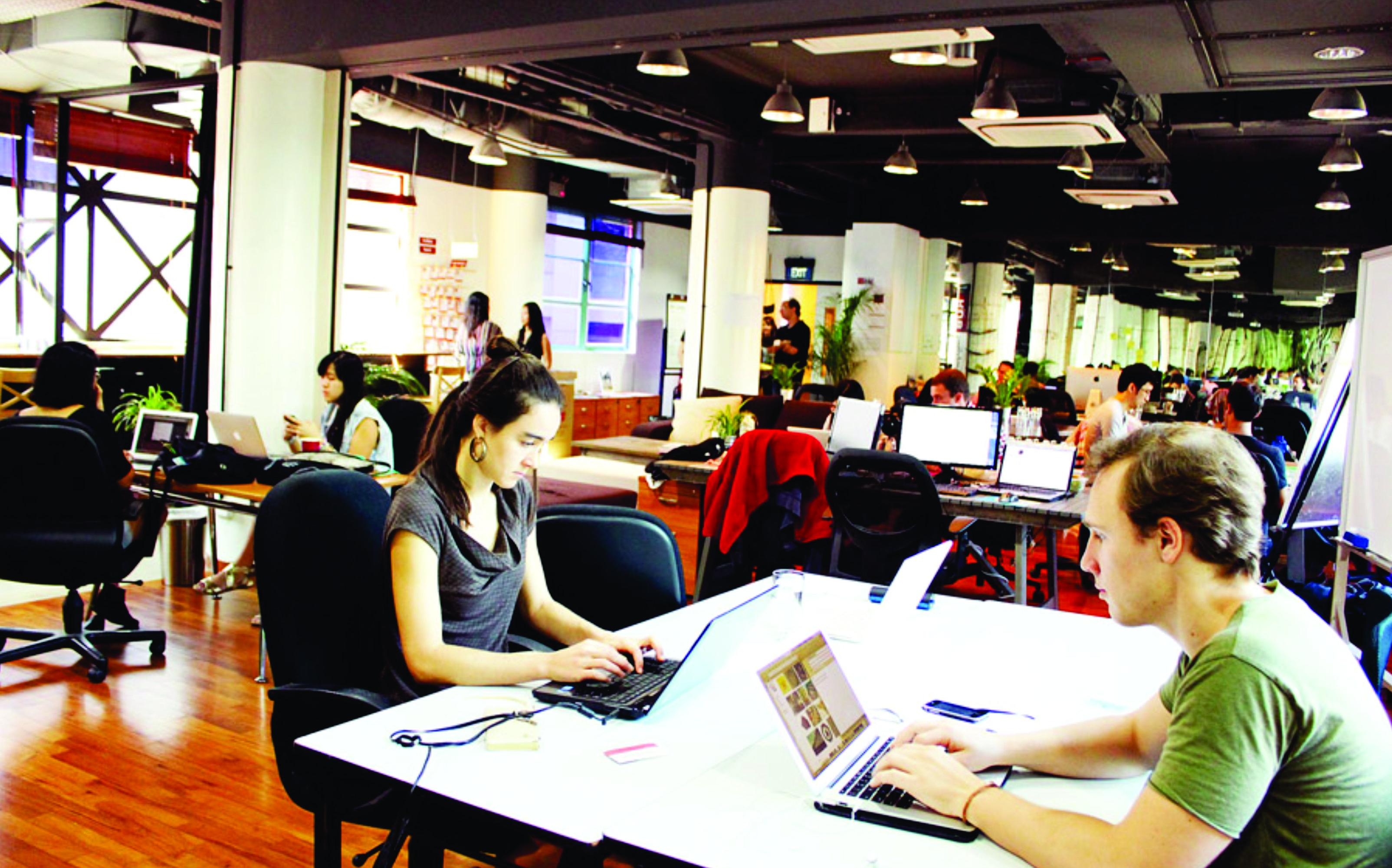 Suasana kerja yang menyenangkan pada perusahaan startup akan meningkatkan produktivitas karyawan