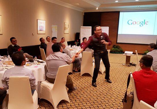 Sesi Training Workshop Perusahaan
