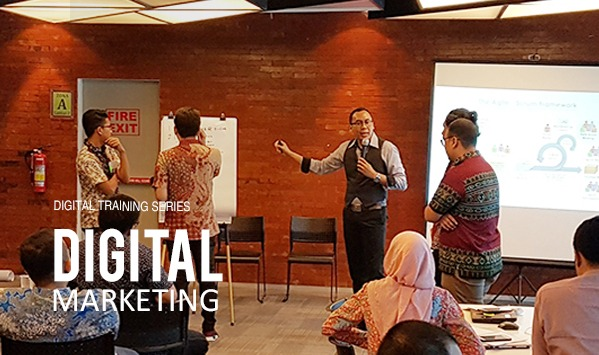 Training Digital Competence dan Digital Marketing Digital Awareness dan SCRUM