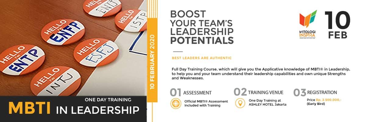 Training MBTI dalam Leadership, Training MBTI Jakarta
